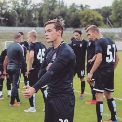 Агапов сыграл за сборную Украины U-19